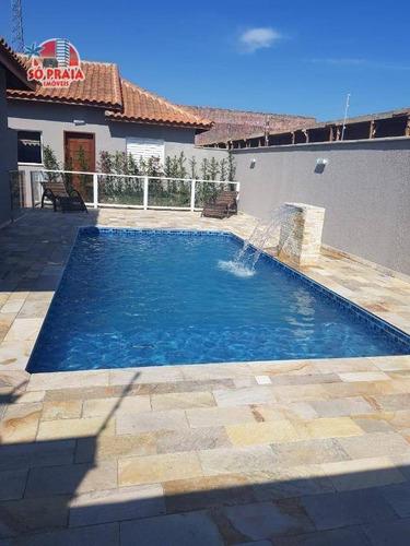 Casa Com 2 Dormitórios À Venda, 43 M² Por R$ 220.000,00 - Cibratel Ii - Itanhaém/sp - Ca5162