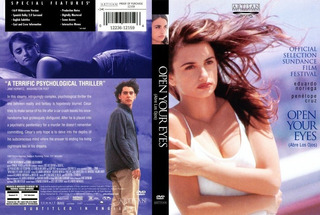 Eduardo Noriega Penelope Cruz Open Your Eyes Dvd 1997 Usa