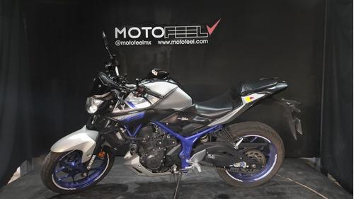 Imagen 1 de 9 de Motofeel Cdmx - Yamaha  Mt 03 @motofeelmx