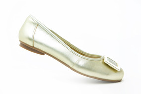 Flexi Dama Balerina Casual 32509 Oro Originales