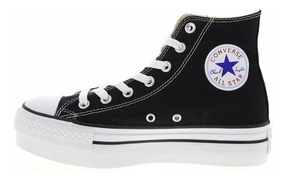 Converse Chuck Taylor All Star Plataforma Hi Black