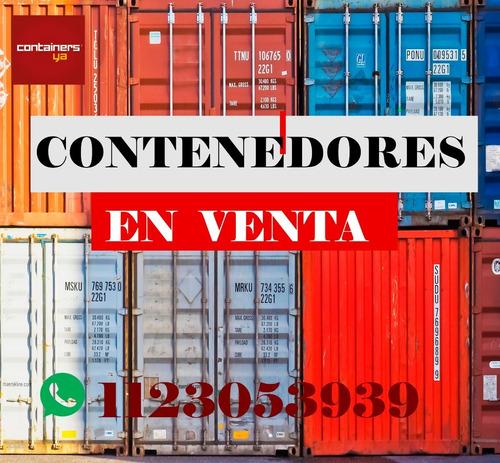Contenedores Maritimos Containers 40 Pies Hc  Nacionalizado