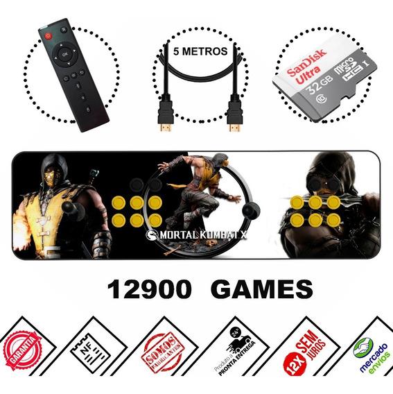 Fliperama Portátil Arcade Mais De 12500 Mil Jogos Completo!!