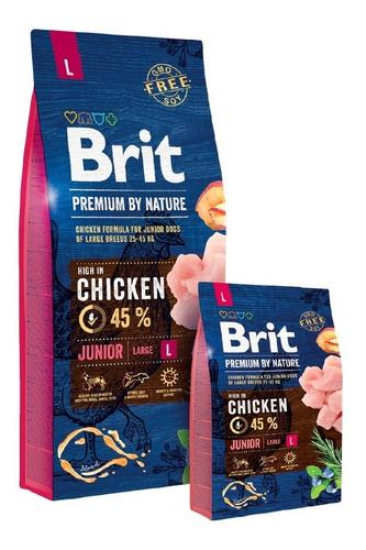 Alimento Europeo Brit Premium Junior L (cachorro) 3k