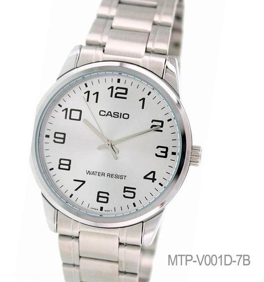 Reloj Casio Mtp-v001d Acero Cristal Duro Watch Fan Watch Fan