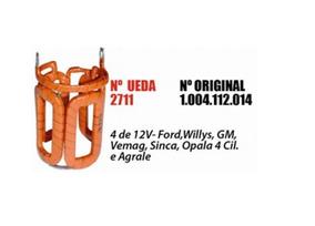 Bobina Partida Campo Opala4c Agral Willy12v F3 Ud2711