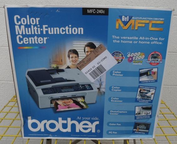 Impressora Multifuncional Brother Mfc-240c 6 Em 1