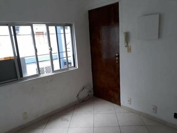 Apartamento Em Aparecida, Santos/sp De 46m² 1 Quartos À Venda Por R$ 165.000,00 - Ap198143