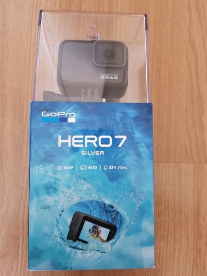 Câmera Digital Gopro Hero 7 Silver 10 Mp Gravação 4 K30