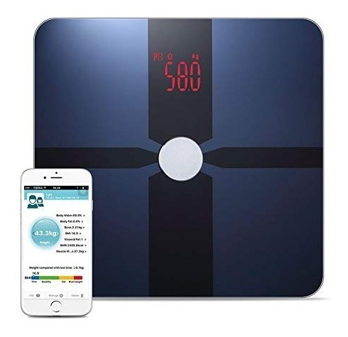 Bascula Inteligente Bathroom Digital Scale - Accurate Bmi