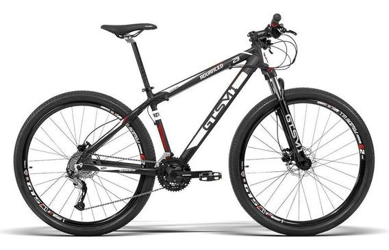 Bicicleta Aro 29 Gts Acera 27v Freio Hidráulico E Trava Cl