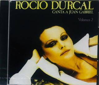 Rocío Dúrcal, Canta A Juan Gabriel Vol. 2 Cd Nuevo Importado