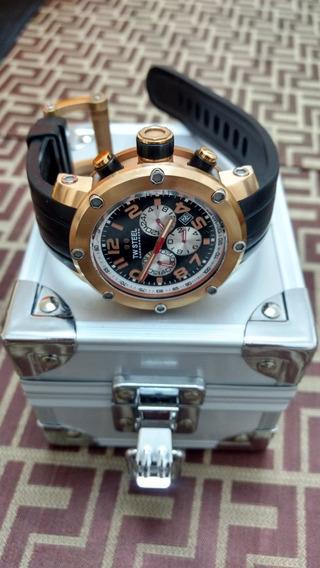 Relógio Tw Steel Com Caixa Especial De Alumínio