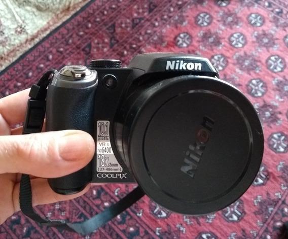 Câmera Fotográfica Digital Nikon P80 - Acompanha Acessórios