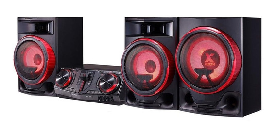 Mini System Lg Cj88 Xboom Dual Usb Multi Bluetooth 2250w