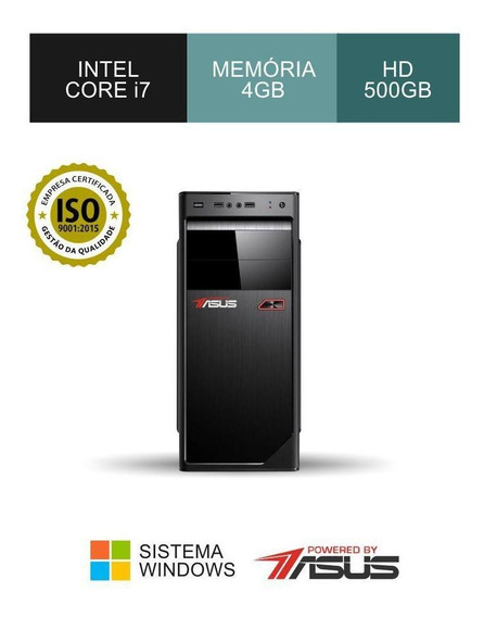 Cpu Asus I7 3.40ghz Ram 4gb Hd 500gb