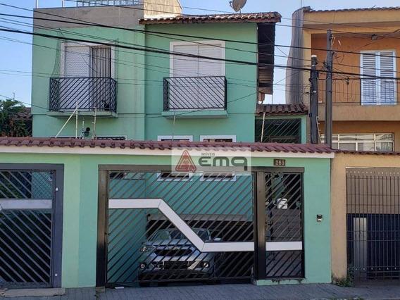 Casa À Venda, 160 M² Por R$ 620.000,00 - Vila Guilherme - São Paulo/sp - Ca0166