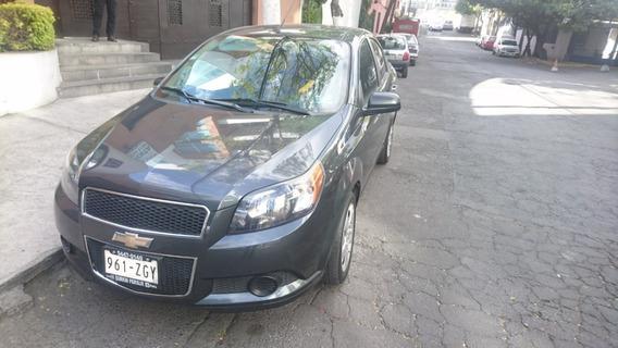 Chevrolet Aveo Lt Automático A/c Vidrios Eléctricos 2014