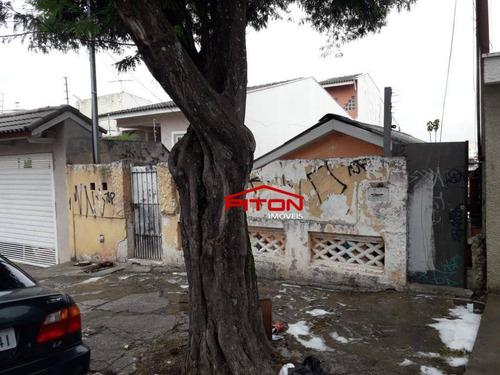 Terreno À Venda, 296 M² Por R$ 660.000,00 - Vila Matilde - São Paulo/sp - Te0370