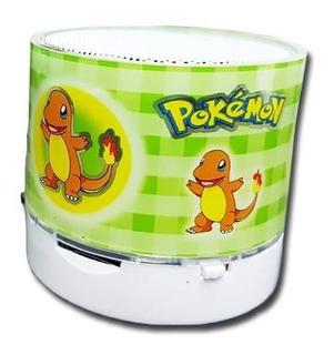 Parlante Bluetooth Pokemon (varios Modelos)