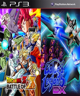 Dragon Ball Z Battle Of Z & Galaga Legion Latino Digital Ps3