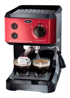 Cafetera Express Oster Cmp65r 19 Bar Cápsulas Nespresso Gtía
