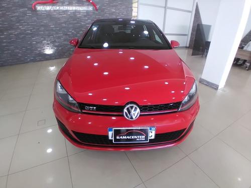 Volkswagen Golf Gti 2016 87000km Rojo Impecable Estado