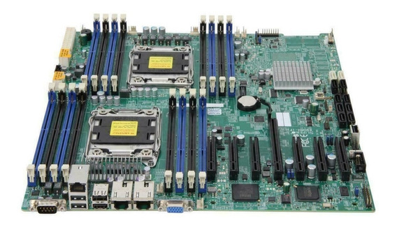 Placa Mãe Supermicro X9drh-if Socket Lga 2011 Server