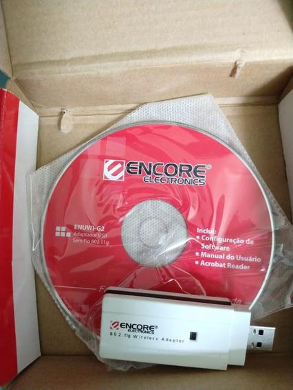 Adaptador Wireless Usb Encore Enuwi-g2 Para Pc Desktop