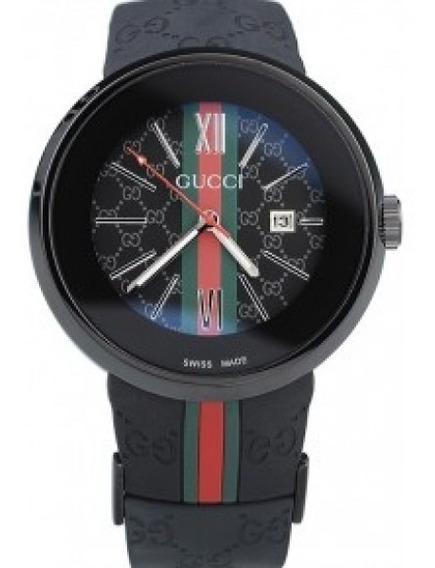 Relógio Gucci Gccbtnw- 001 - Pulseira De Borracha