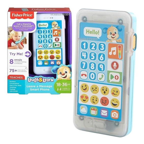 Fisher Price Mi Primer Telefono De Aprendizaje Smartphone