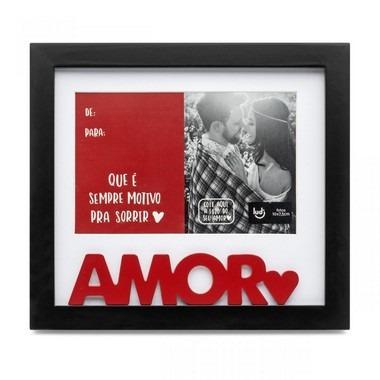 Porta Retrato Cartão Melhor Amor