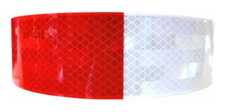 Cinta Reflectante Seguridad Blanco/rojo