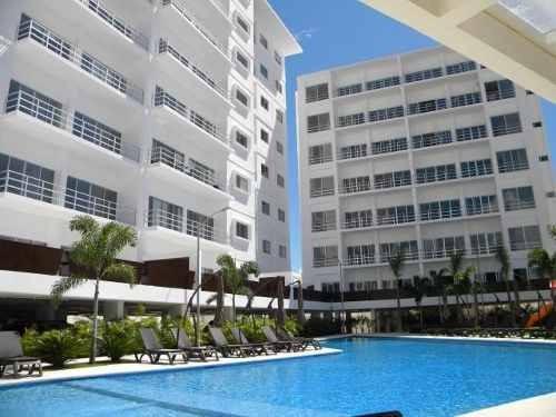 Soho Elite Apartments. Departamento En Venta. Garden 3 Recámaras Con Terraza. Astoria. Zona Huayacán. Cancún, Quintana Roo