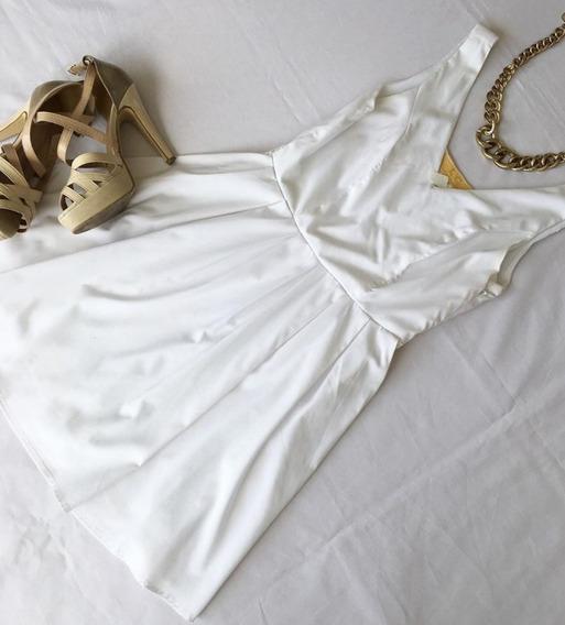 Blusa Blanca Xs (limpiando El Armario)