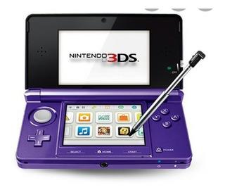 Nintendo Ds 3d Doble Cámara Con Wifi Rojo, Rosado Y Morado