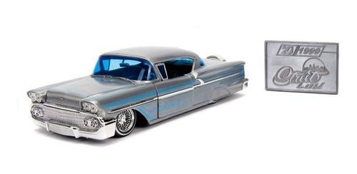 Vehículo Jada 20th Diecast - Chevy 1958 De Escala 1:24