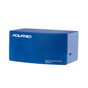 Modulador De Áudio E Vídeo Aquário Mod-001 Canal 3 E 4 De