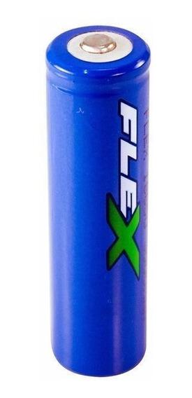 Bateria Recarregável Lanterna Tática 3.7v 3800mah Fx-18650 -