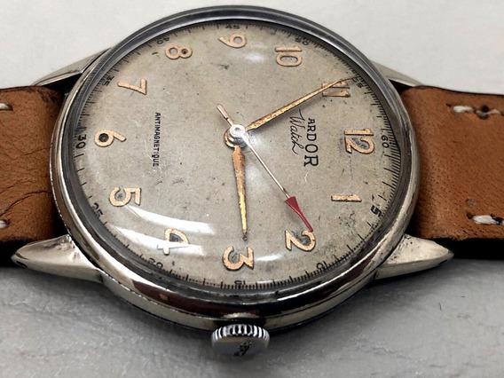 Relógio Mecânico Ardor Watch Vintage Á Corda 36mm Funcionando