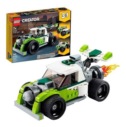 Imagen 1 de 4 de Lego Camión A Reacción 31103