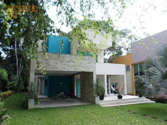 Condomínio Prive Quatro Estações, Aldeia, Casa Com 610m2 De Terreno E 300 De Área Construída. - Ca0253