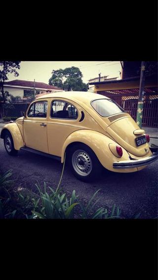 Volkswagen Fusca 80 Placa Preta