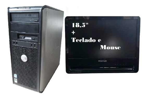 Computador Dell Optiplex 330 Ddr2 4gb 120gb Ssd Mon 18,5
