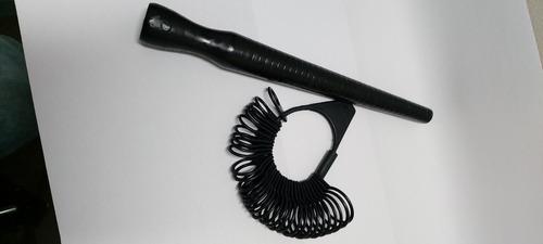 Medidor De Dedo De Plástico, Aneleira Barata Kit 2 Peças