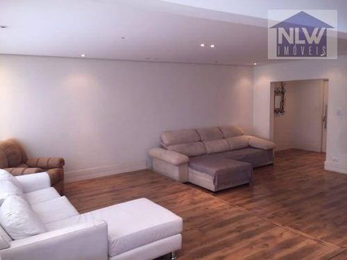 Apartamento Com 4 Dormitórios À Venda, 156 M² Por R$ 742.000,00 - Mooca - São Paulo/sp - Ap3668