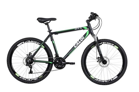 Bicicleta Mtb Caloi Htx Aro 26 - Freio A Disco 21 Marchas