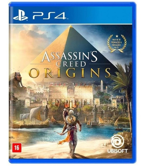 Assassins Creed Origins Ps4 Midia Fisica