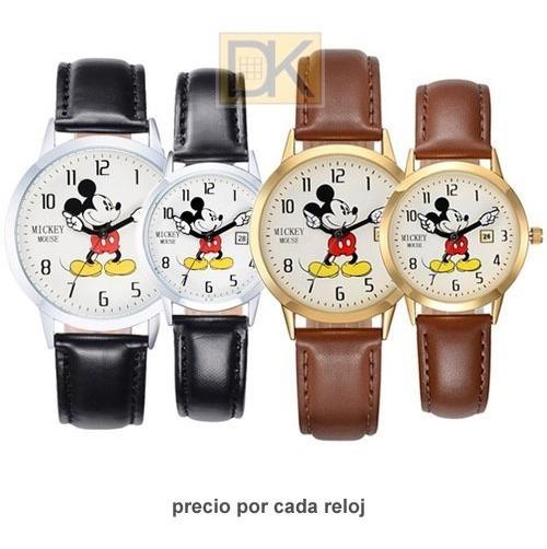 Reloj Mickey Mouse Duo Disney. Calendario. Envío Gratis!