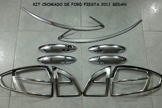 Accesorios Cromados Ford Fiesta Sedan 2011